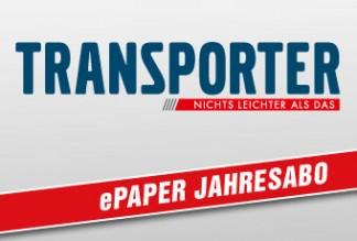 TRANSPORTER ePaper Jahresabo