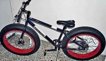 Fat-Bike für Fahrrad-Freaks