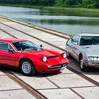 Citroën SM vs. Maserati Merak – Ungleiche Brüder