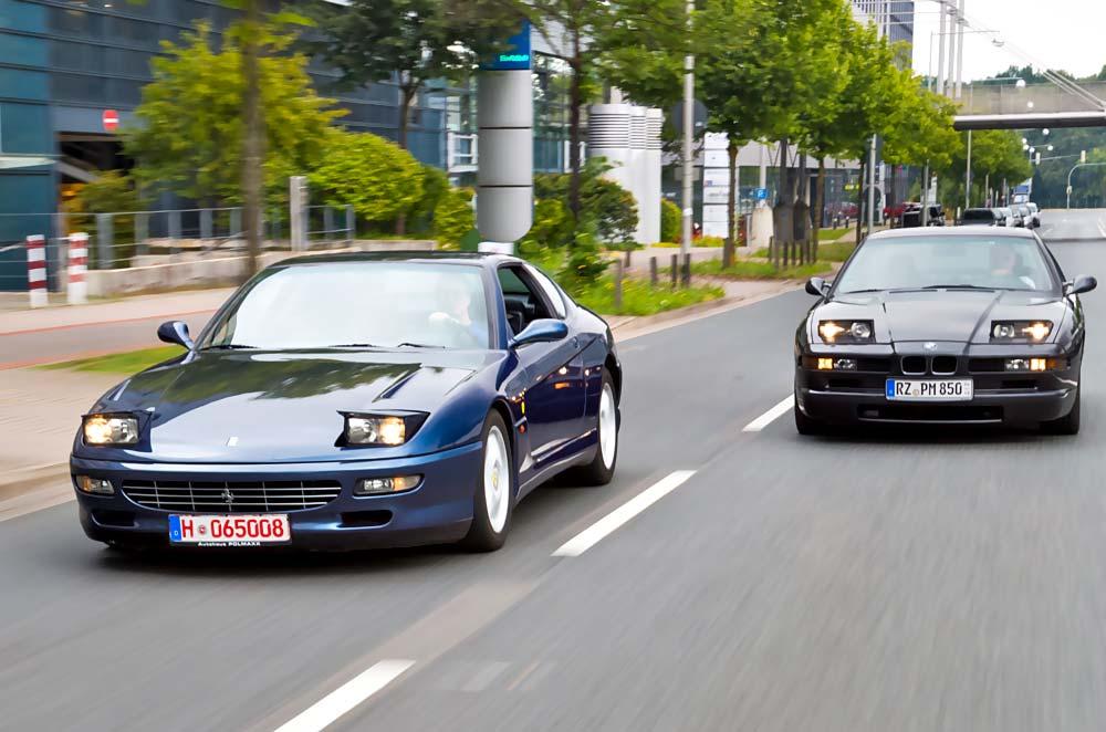 Beste Gesellschaft Bmw 850ia Und Ferrari 456 Gta Träume Wagen