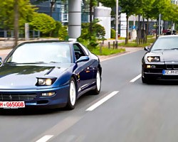 Beste Gesellschaft – BMW 850iA und Ferrari 456 GTA