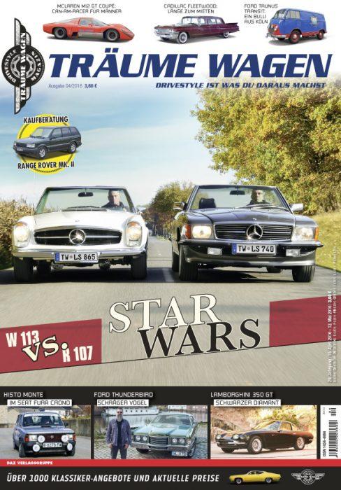 Editorial TRÄUME WAGEN 04/2016
