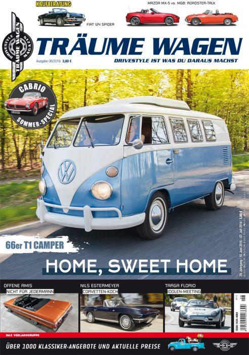 Editorial TRÄUME WAGEN 06/2016