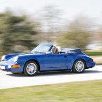 Porsche 911 Cabrio (964) – Der Sonne entgegen
