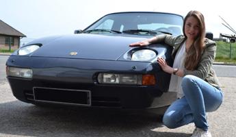 Ein Porsche für die Azubine