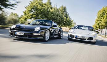 Luft gegen Wasser – Porsche 993 Carrera 4S vs Porsche 996 Carrera 4S