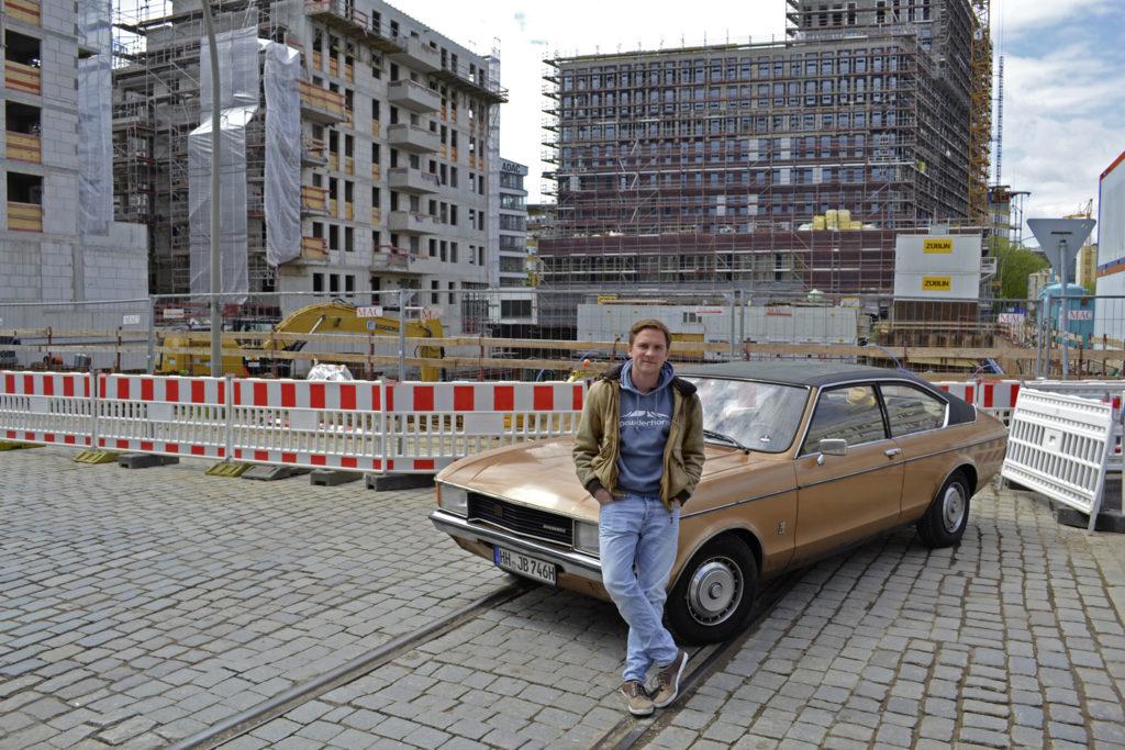 Kölner Baustelle – Ford Granada Coupé 1975