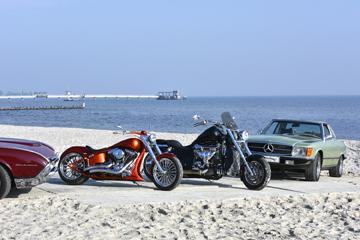 Classic Cars & US Bikes Meeting Motorstrand Kellenhusen