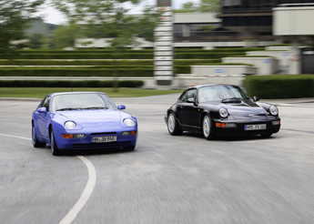 Porsche 911 RS vs. Porsche 968 CS – Limitiertes Angebot