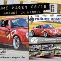 TRÄUME WAGEN 08/18 – Die neue Ausgabe ab 03.08. im Handel