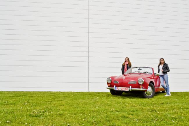 VW Karmann Ghia 1967 – Ladykracher im Frauenkäfer