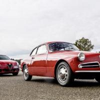 Alfa Giulietta Sprint 1958 vs. Alfa Giulietta Veloce 2016