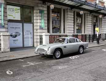Der Fuhrpark des MI6 – James Bond im London Film Museum