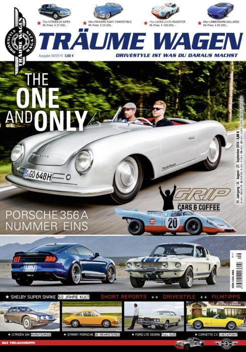 TRÄUME WAGEN 09/18 – Die neue Ausgabe ab 31.08. im Handel