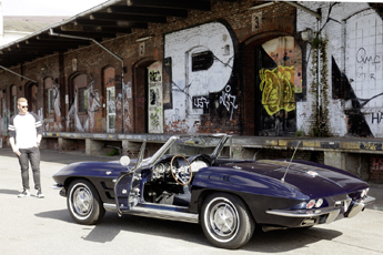 Corvette C2 1963 – Blaue Stunde für Nils Egtermeyer