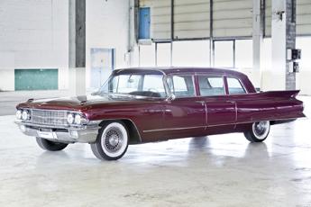 Cadillac Fleetwood 75 1962 – Luxus Lounge für fette Feten