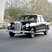 Mercedes-Benz 180 D 1958 Ponton – In der Ruhe liegt die Kraft