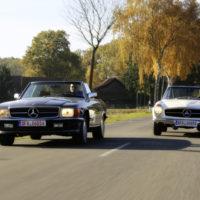 Mercedes-Benz 560 SL (R107) vs. 280 SL (W113)