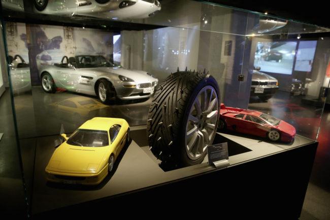 Der Fuhrpark des MI6 – James Bond im London Film Museum