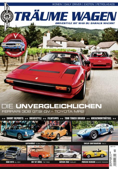 TRÄUME WAGEN 11/18 – Die neue Ausgabe ab 26.10. im Handel