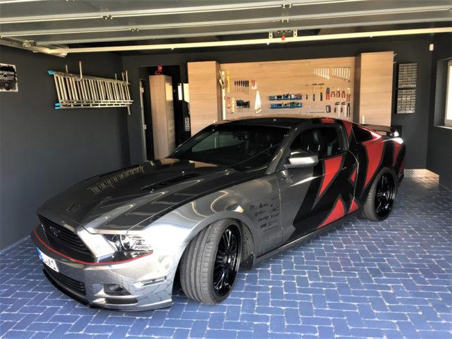 Style-Effekt für die Garage