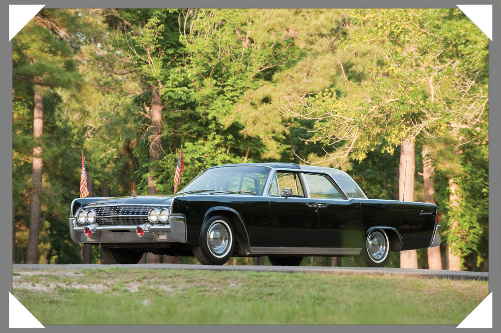 Presidential Bubbletop 62er Lincoln Continental
