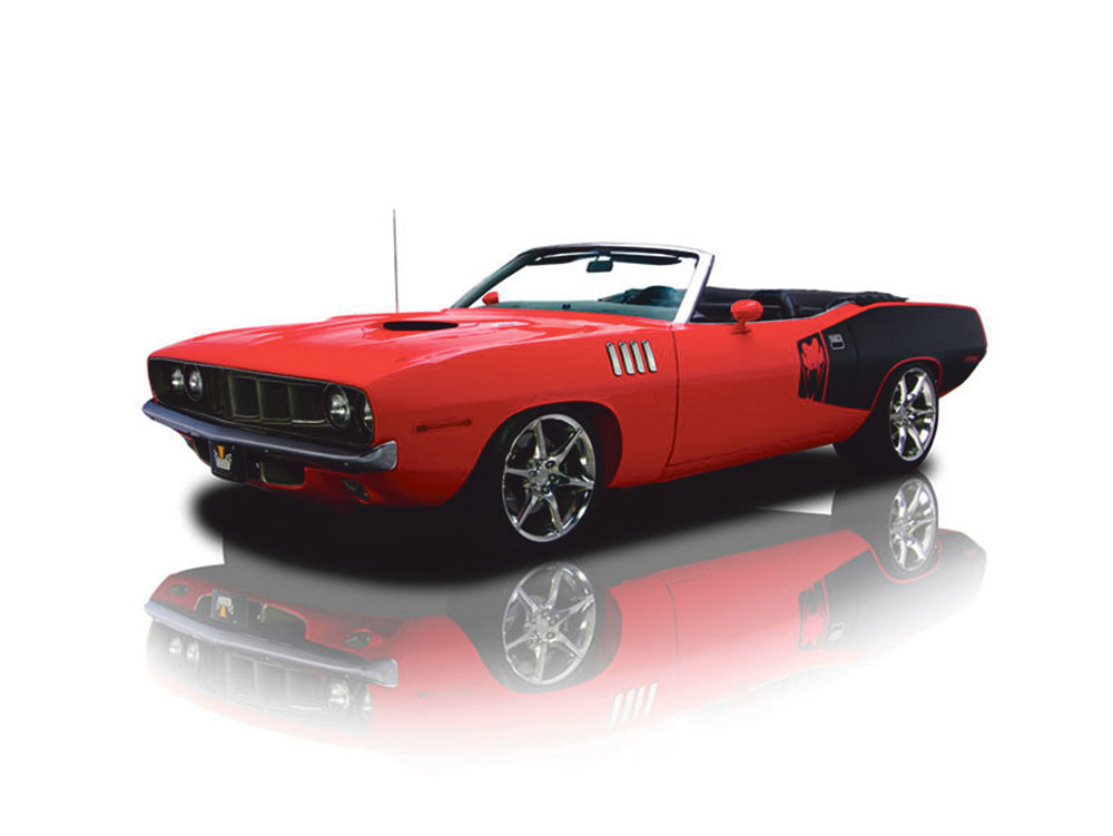 Plymouth Cuda by Time Machines